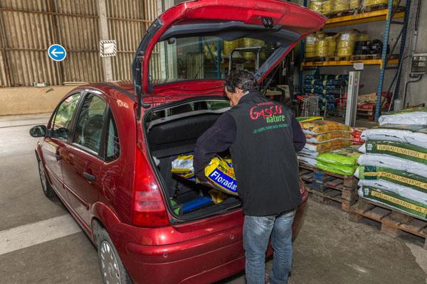 Service au Drive Gasco