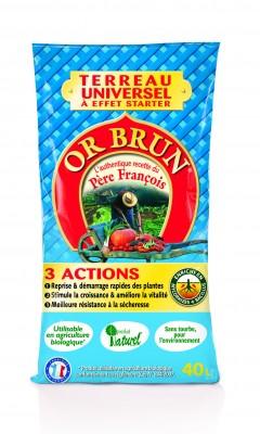 Terreau Universel Or Brun