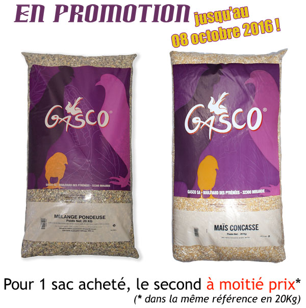 Promotion aliment Basse-cour