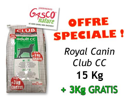 PROMO ROYAL CANIN CLUB CC