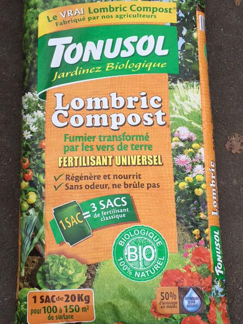 lombric copmost